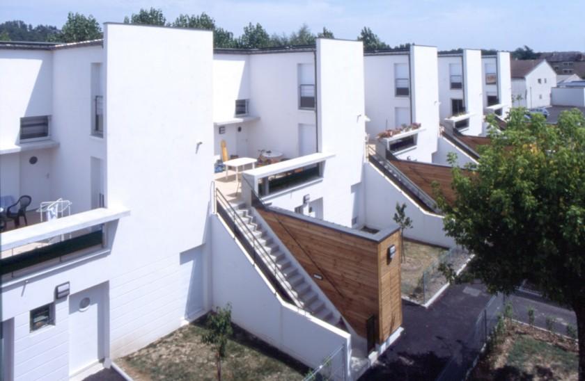 52 logements brive la gaillarde 19 caradec risterucci for Architecte brive la gaillarde