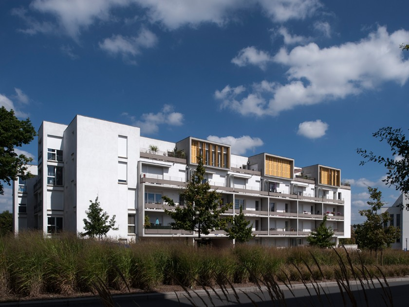 26 logements rennes 35 caradec risterucci for Arch immobilier rennes