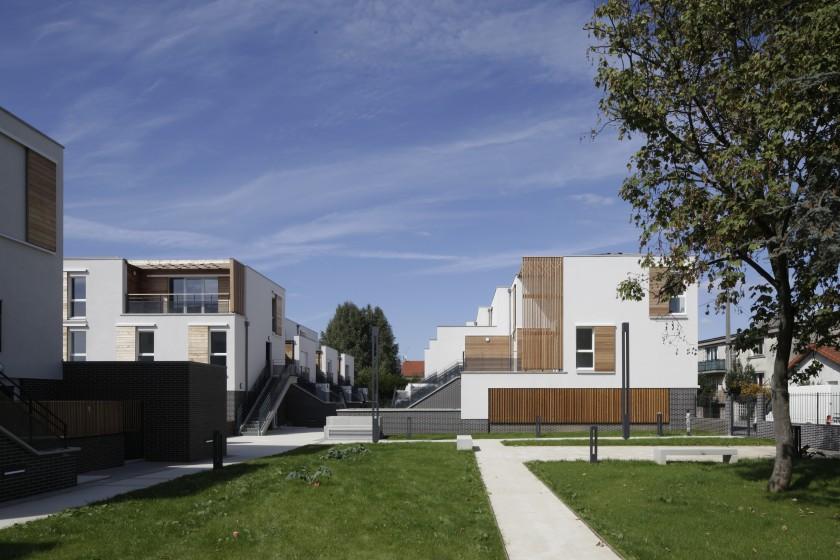 31 logements montfermeil 93 caradec risterucci for Aventures de maison rennes