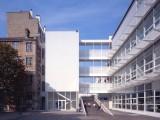 LOEIZ CARADEC ET FRANCOISE RISTERUCCI ARCHITECTES. SARL ARCHITECTURE ET URBANISME. 6 IMPASSE DE MONT-LOUIS. 75011 PARIS. SCOLAIRE. LYCEE PROFESSIONNEL DORIAN. ZAC DORIAN. 75011 PARIS