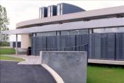 LOEIZ CARADEC ET FRANCOISE RISTERUCCI ARCHITECTES. SARL ARCHITECTURE ET URBANISME. 6 IMPASSE DE MONT-LOUIS. 75011 PARIS. CULTUREL. BIBLIOTHEQUE DEPARTEMENTALE DE L'INDRE. RUE MONTAIGNE. CHATEAUROUX